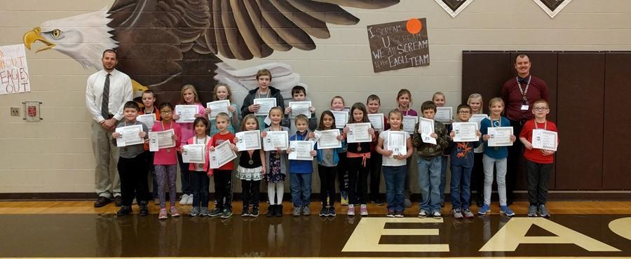 November Principal's Award Winners