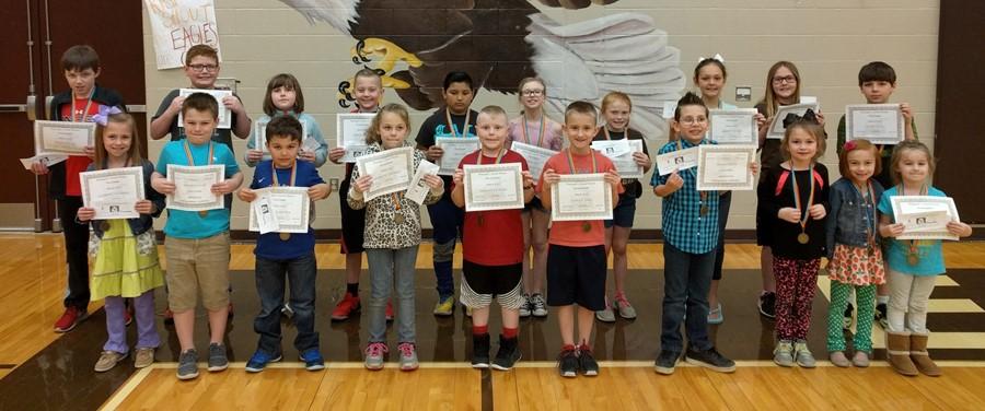 March Principal's Award