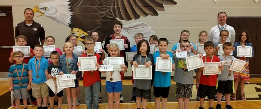 April Principal's Award winners