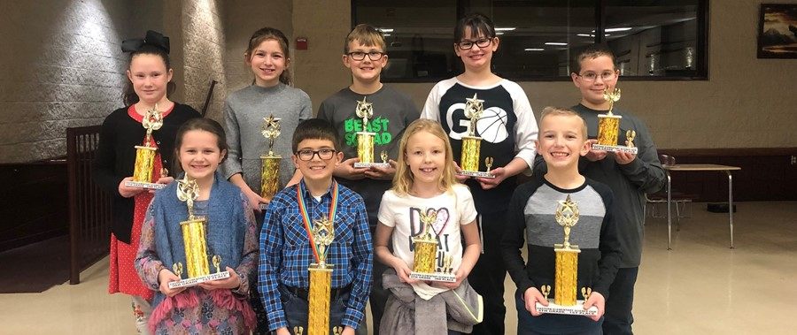 2018-2019 Elementary Sciecne Fair Winners